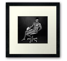 mike 24 Framed Print