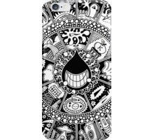 The Drop Black and White iPhone Case/Skin