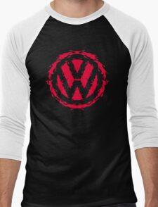 Volksbloten (red) Men's Baseball ¾ T-Shirt