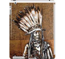 Indian with rifle iPad Case/Skin