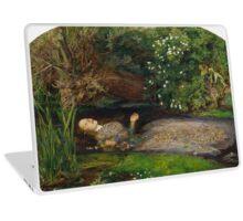 John Everett Millais - Ophelia.  Laptop Skin