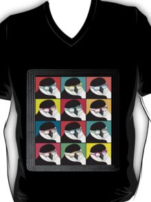 Chinstrap Penguins Pop Art T-Shirt