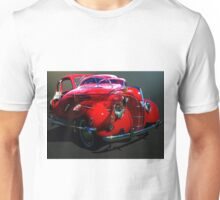 Red Coupe Unisex T-Shirt