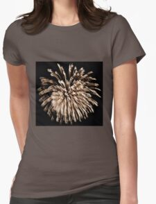 Twirlie Lights Womens Fitted T-Shirt