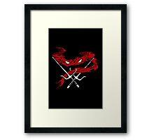 Red Wrath Framed Print