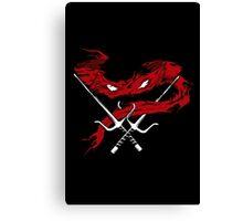 Red Wrath Canvas Print