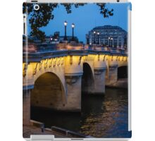 Pont Neuf Bridge - Paris, France iPad Case/Skin
