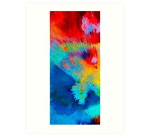 Primary Joy - Abstract Art by Sharon Cummings Art Print