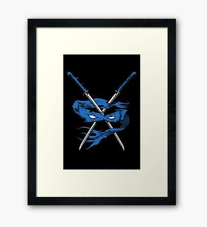 Blue Fury Framed Print