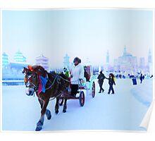 Harbin Ice Festival  Poster