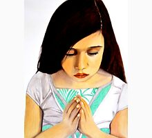 Roxanna --- Girl Praying by Saribelle Rodriguez Unisex T-Shirt