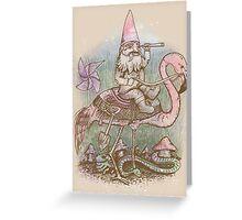 Journey Through the Garden Greeting Card