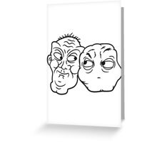 Best enemies rival's friends Greeting Card