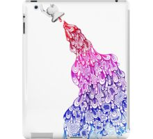bathe blankness in your creativity iPad Case/Skin