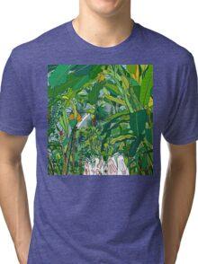 London Palm House & Bunnies Tri-blend T-Shirt