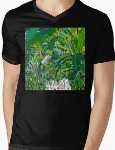 London Palm House & Bunnies Mens V-Neck T-Shirt
