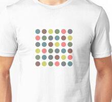 Retro Polka Dots Unisex T-Shirt