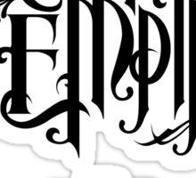 Crown The Empire - Black Sticker