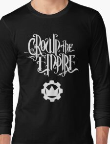 Crown the Empire - White Long Sleeve T-Shirt