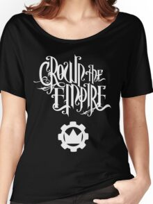 Crown the Empire - White Women's Relaxed Fit T-Shirt