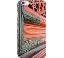 Red Dragon Door iPhone Case/Skin