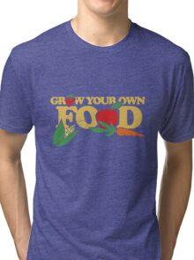 Grow your own food urban farming Tri-blend T-Shirt