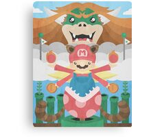 Mario Shrine Canvas Print