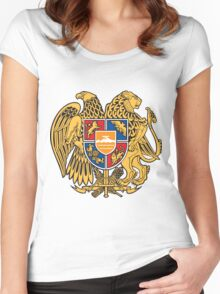 Armenia Coats of Arms Women's Fitted Scoop T-Shirt