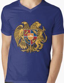 Armenia Coats of Arms Mens V-Neck T-Shirt