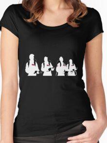 The Showdown (Dark version) Women's Fitted Scoop T-Shirt