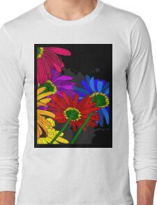 Flowers - Framed T-shirt Long Sleeve T-Shirt