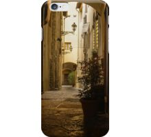 Wandering Around the Lanes and Alleys of Florence, Italy iPhone Case/Skin