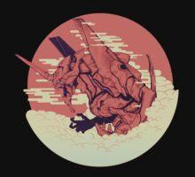 Unit 01 [Neon Genesis Evangelion] One Piece - Long Sleeve