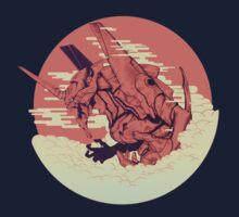 Unit 01 [Neon Genesis Evangelion] Kids Tee