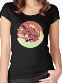 Unit 01 [Neon Genesis Evangelion] Women's Fitted Scoop T-Shirt