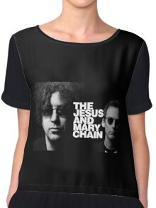 The Jesus And Mary Chain Picture Chiffon Top