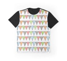 bright triangle stripes Graphic T-Shirt