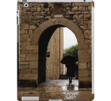 Rainy Day in Provence, France iPad Case/Skin