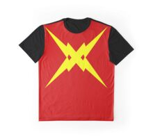 Crossed Bolts Graphic T-Shirt