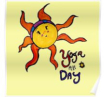 Yoga All Day Poster