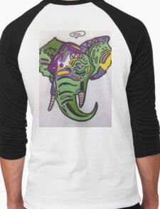 Elephant Men's Baseball ¾ T-Shirt