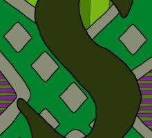 Slytherin House Crest 1 Sticker