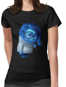 inside out sadness Womens Fitted T-Shirt
