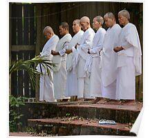 Nuns at Prayer Poster