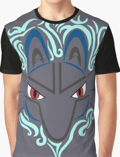 Tribal Lucario Graphic T-Shirt