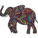 Elephant Swirls by Octavio Velazquez