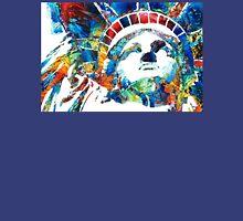 Colorful Statue Of Liberty - Sharon Cummings Unisex T-Shirt