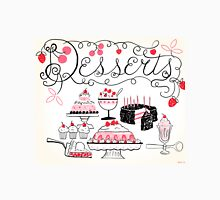 Sweet And Lovely Desserts Unisex T-Shirt
