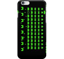 Space invaders iPhone Case/Skin