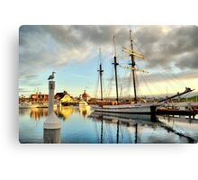 Tole Mour and Rainbow Harbor Canvas Print